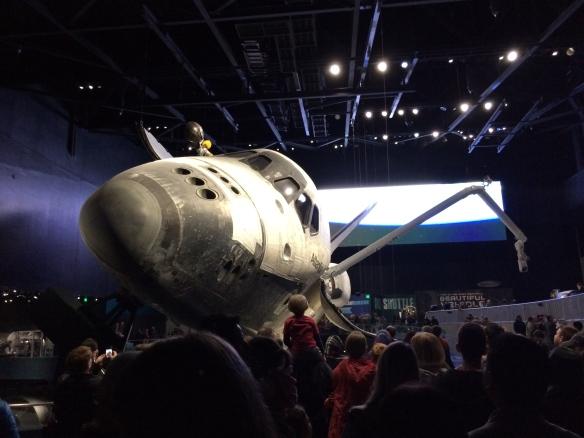 Atlantis-rumfærgen som er den første genanvendelige rumfærge NASA har bygget. Imponerende hvad mennesket er i stand til i dag!